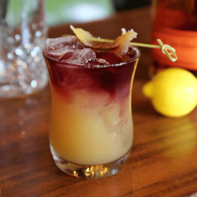 Culinary Dropout restaurant whiskey drink