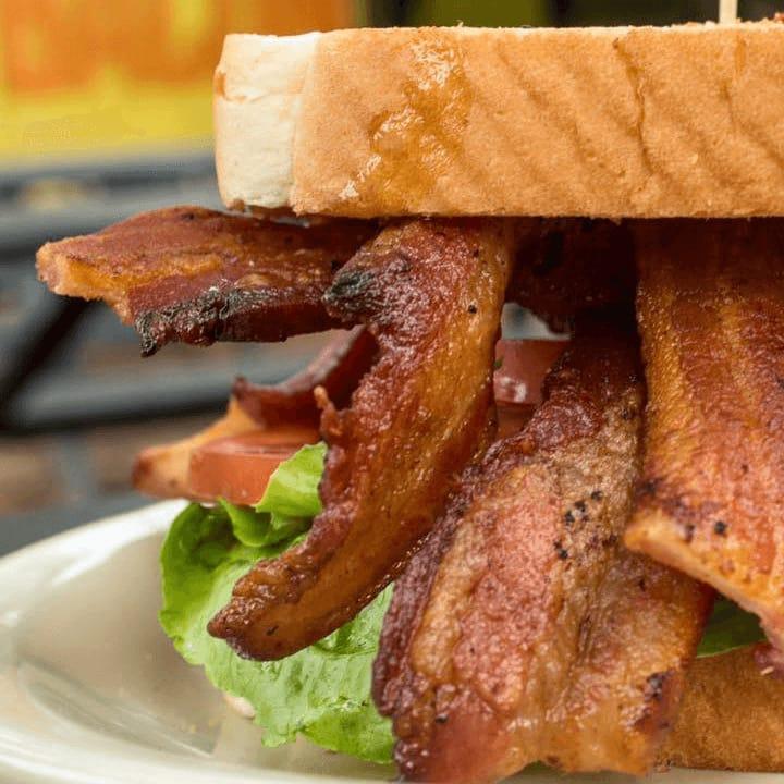 Bacon restaurant Austin sandwich