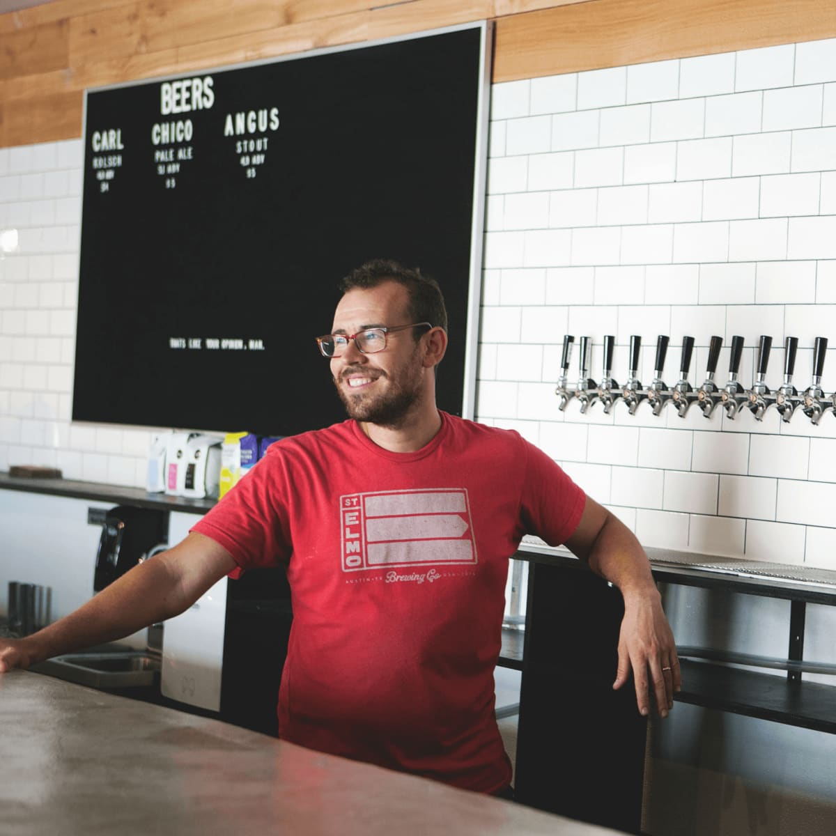 St Elmo Brewing Co Austin Tim Bullock