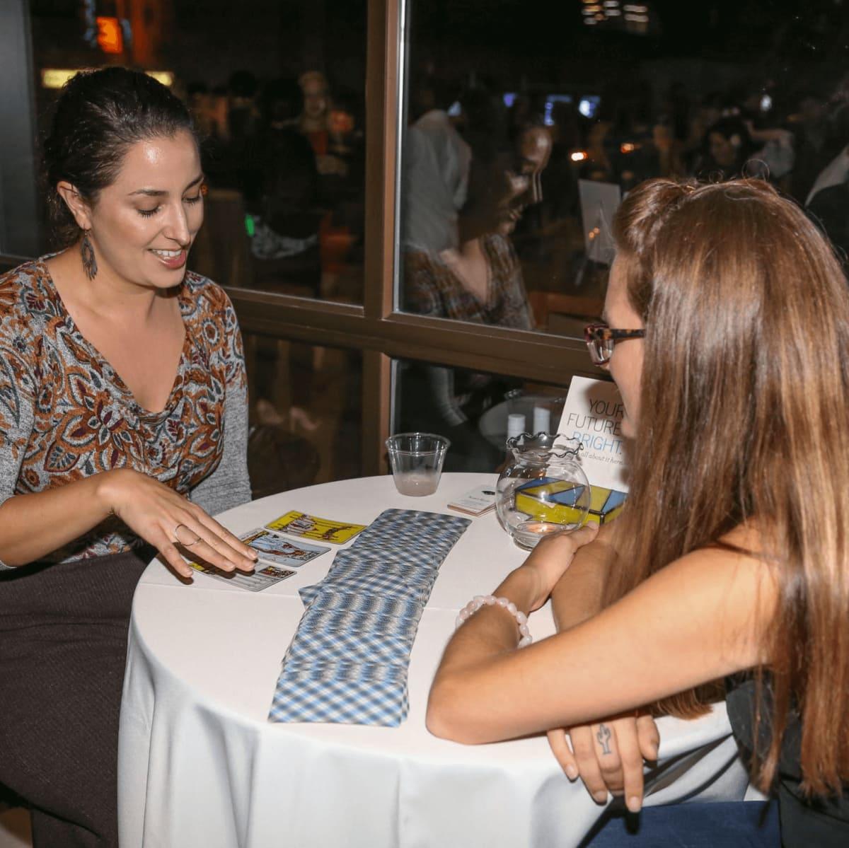 CultureMap Social Top Texans Under 30 Tarot Reading