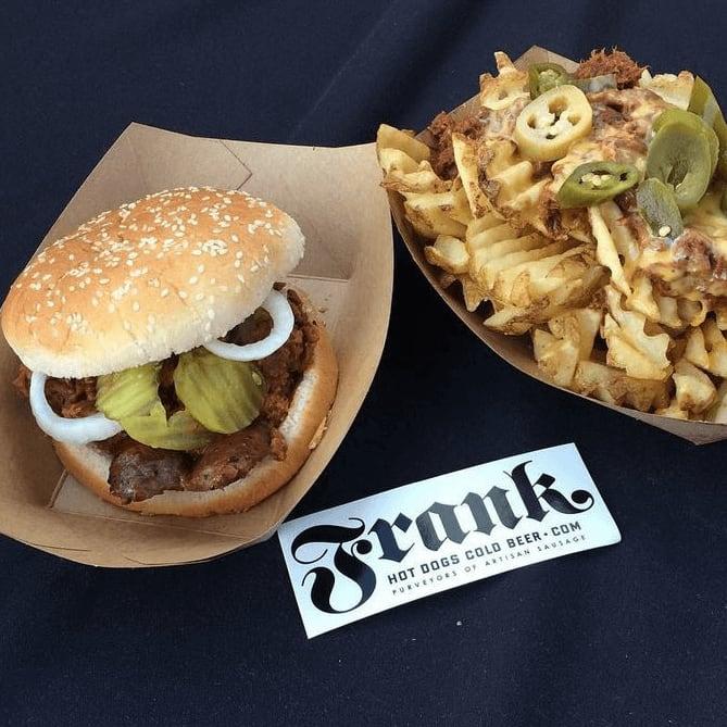 Frank restaurant Austin food burger fries