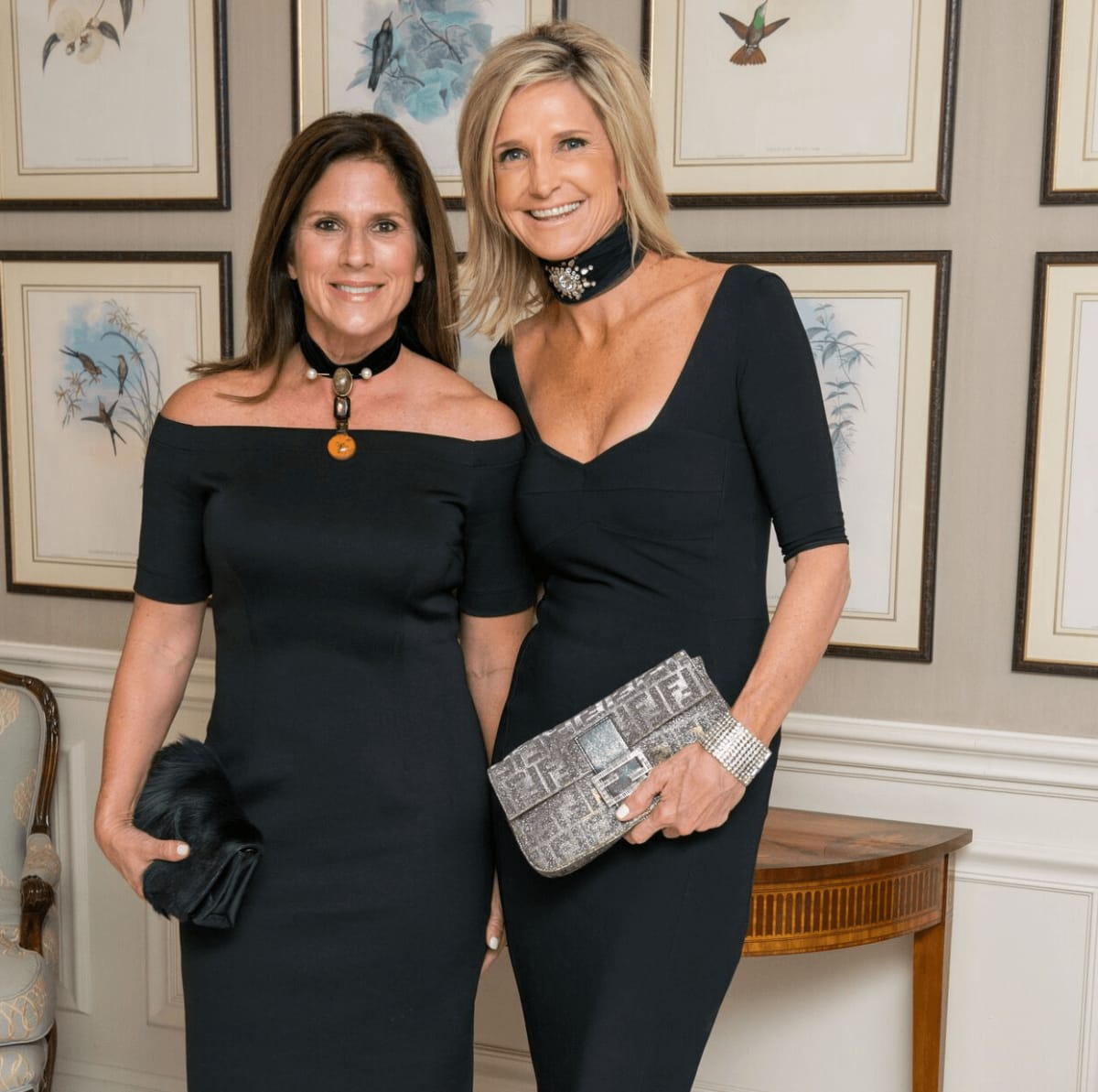 Laura Shoppa, Lisa McCord at Rice Honors Gala