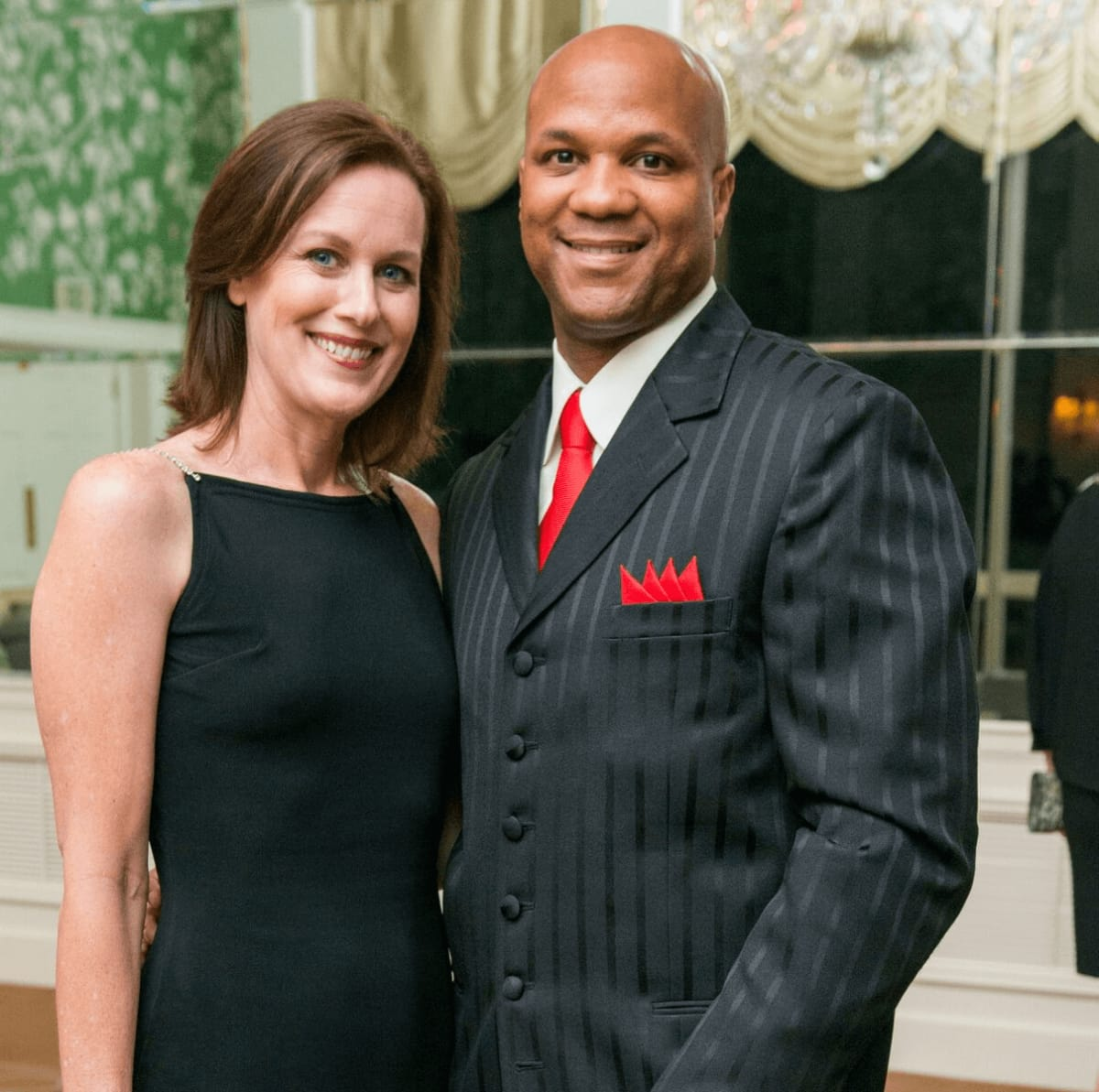 Stacey and Marcus Mosely at Rice Honors Gala
