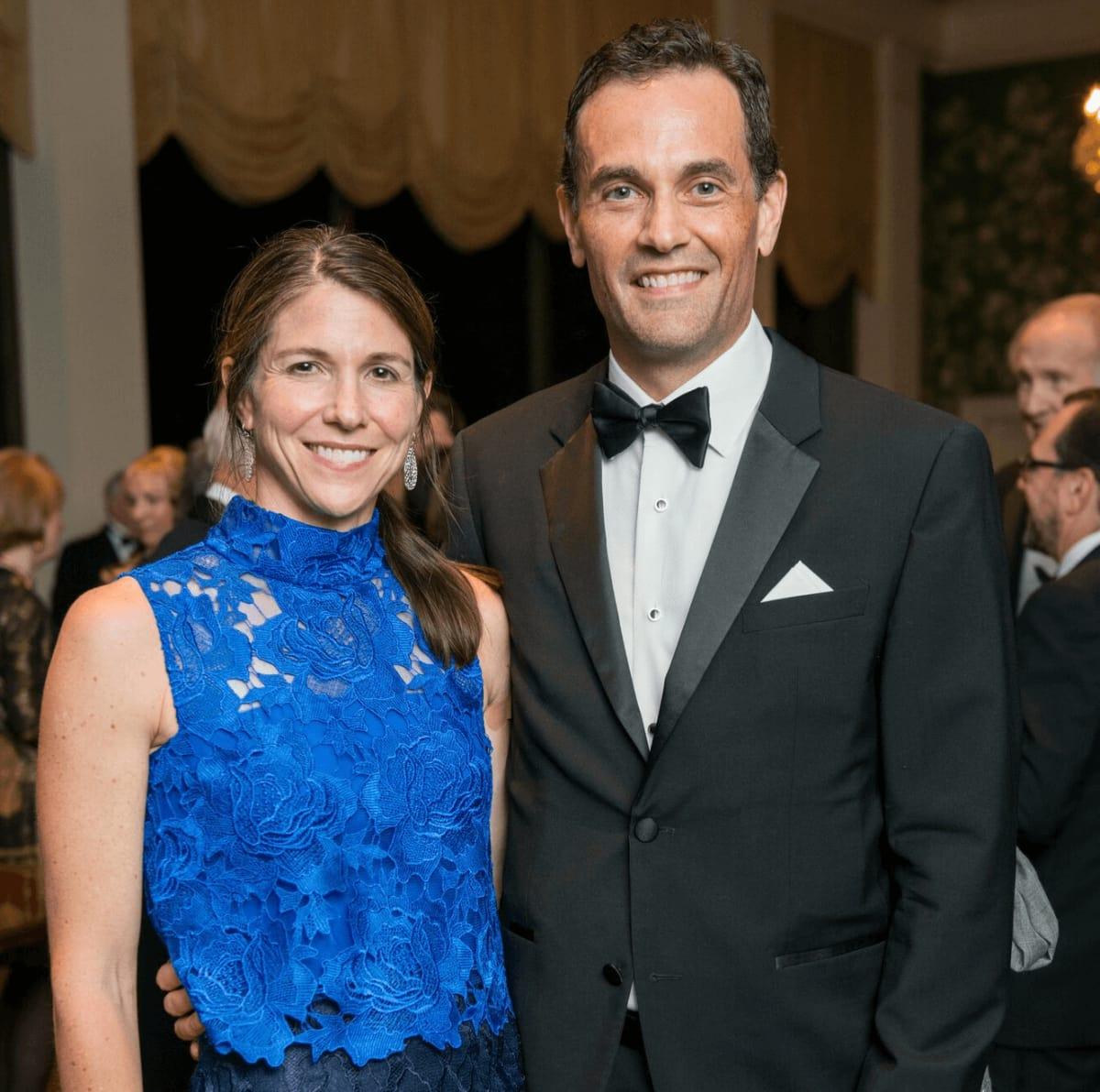 Jill and Joe Karlgaard at Rice Honors Gala