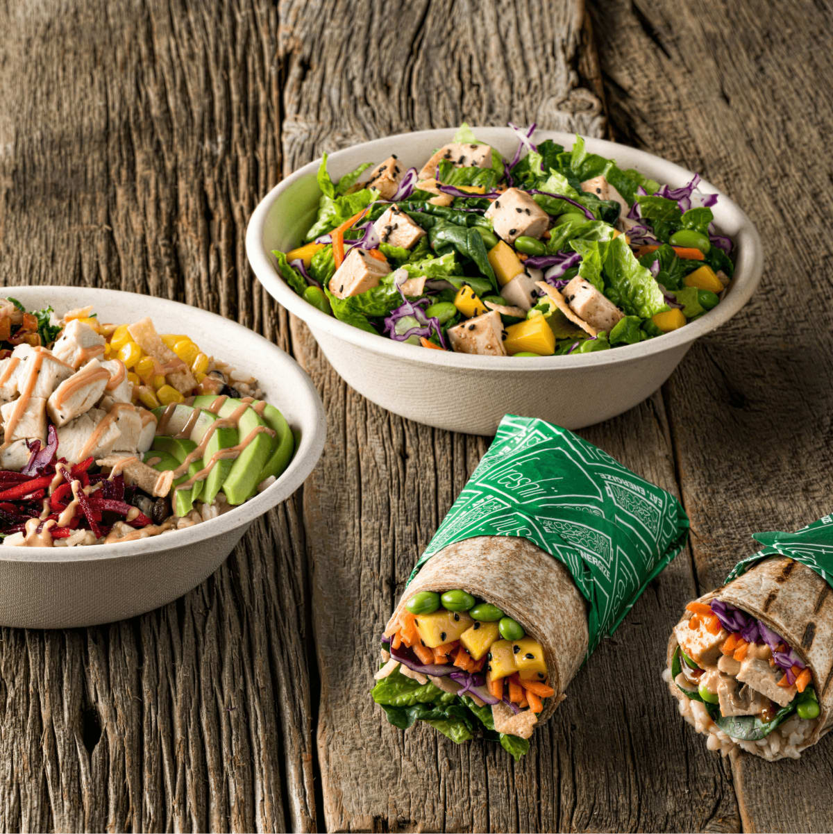 Freshii healthy fast food WE menu