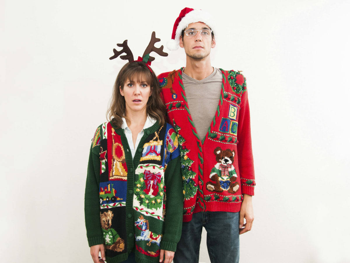 What store sells ugly christmas sweaters