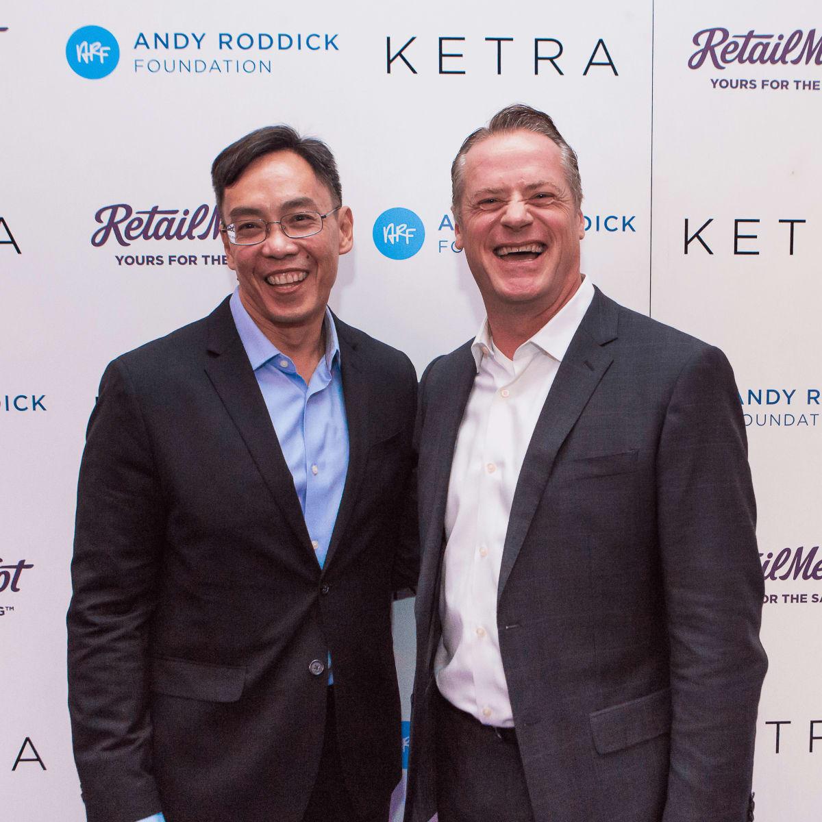 Andy Roddick Foundation Gala 2016 Richard Tagle William Van Pelt