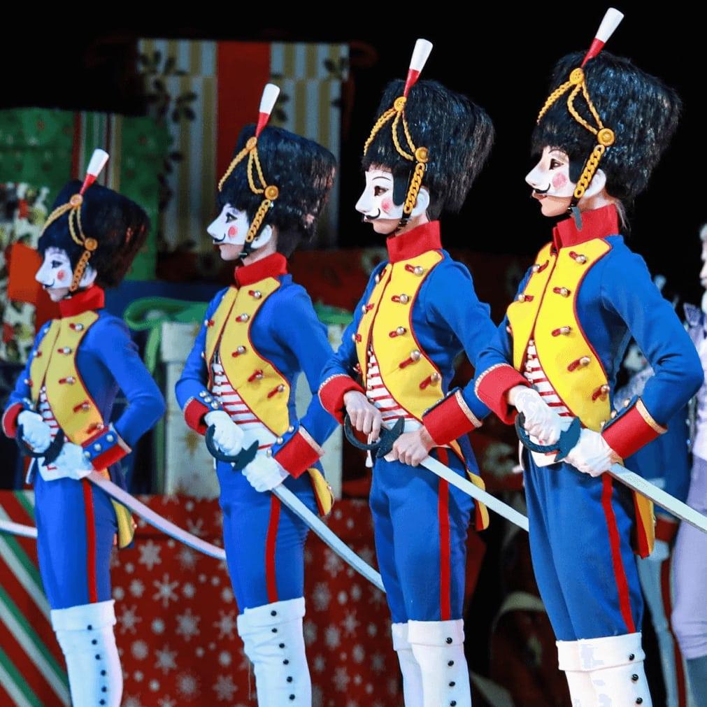 The cast of The Nutcracker, Houston Ballet