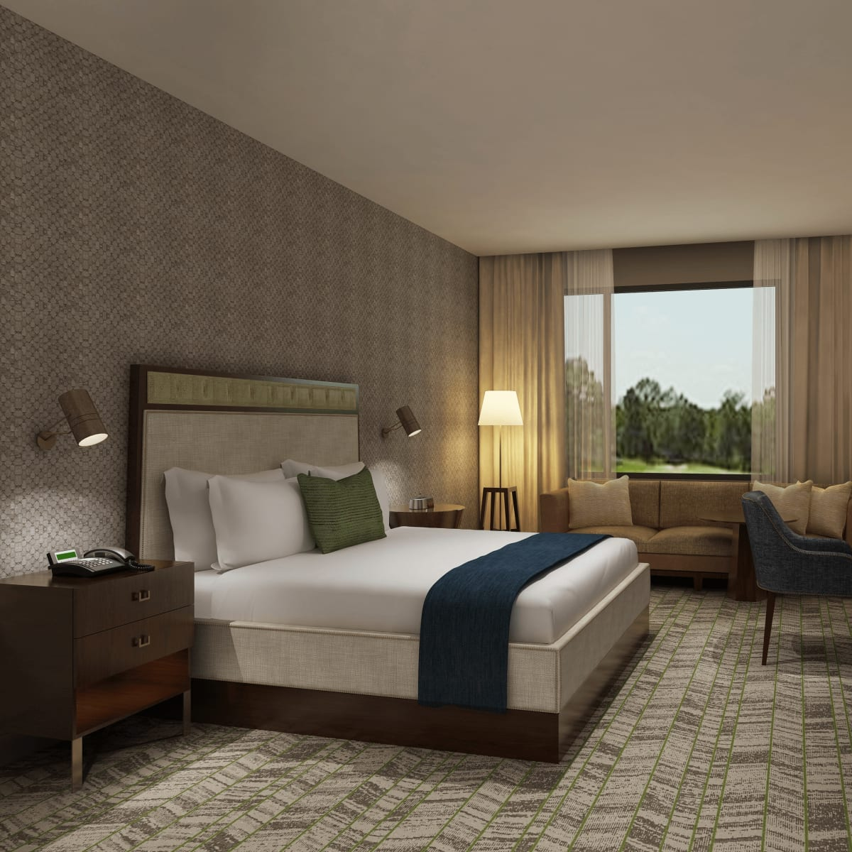 The Stella hotel College Station room