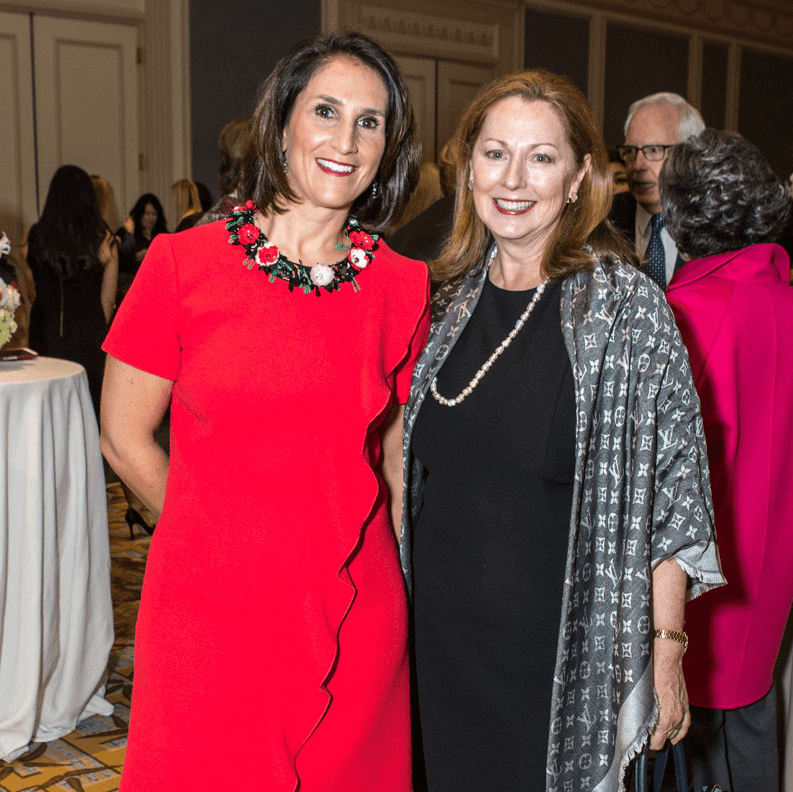 Junior League of Dallas Ball Chair Isabell Novakov and Linda Secrest