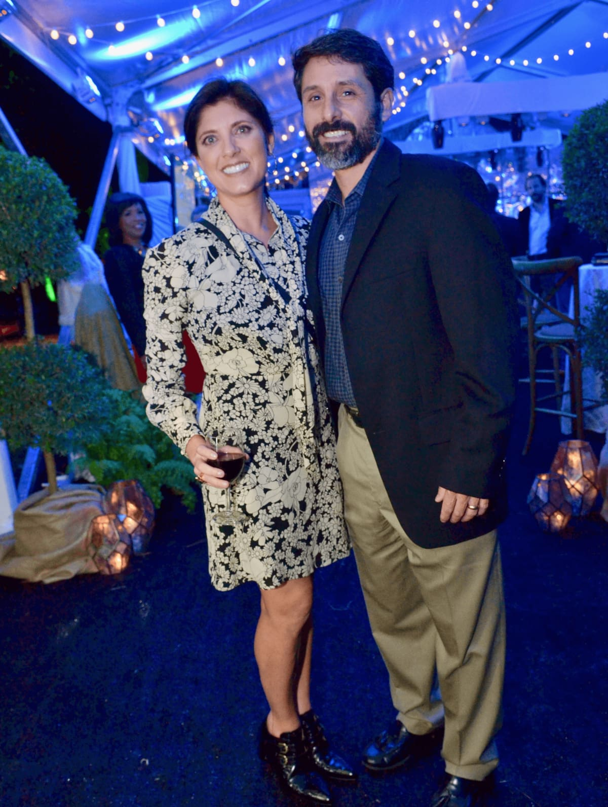 Houston, Susie Bean Gives fundraiser, Dec 2016, Stacey Lindseth, Al Lindseth