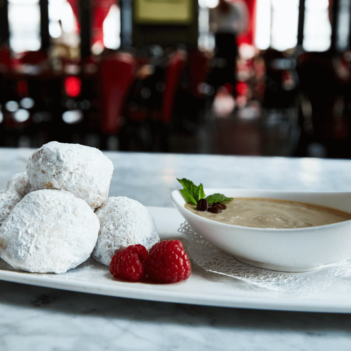 Toulouse Cafe and Bar beignets
