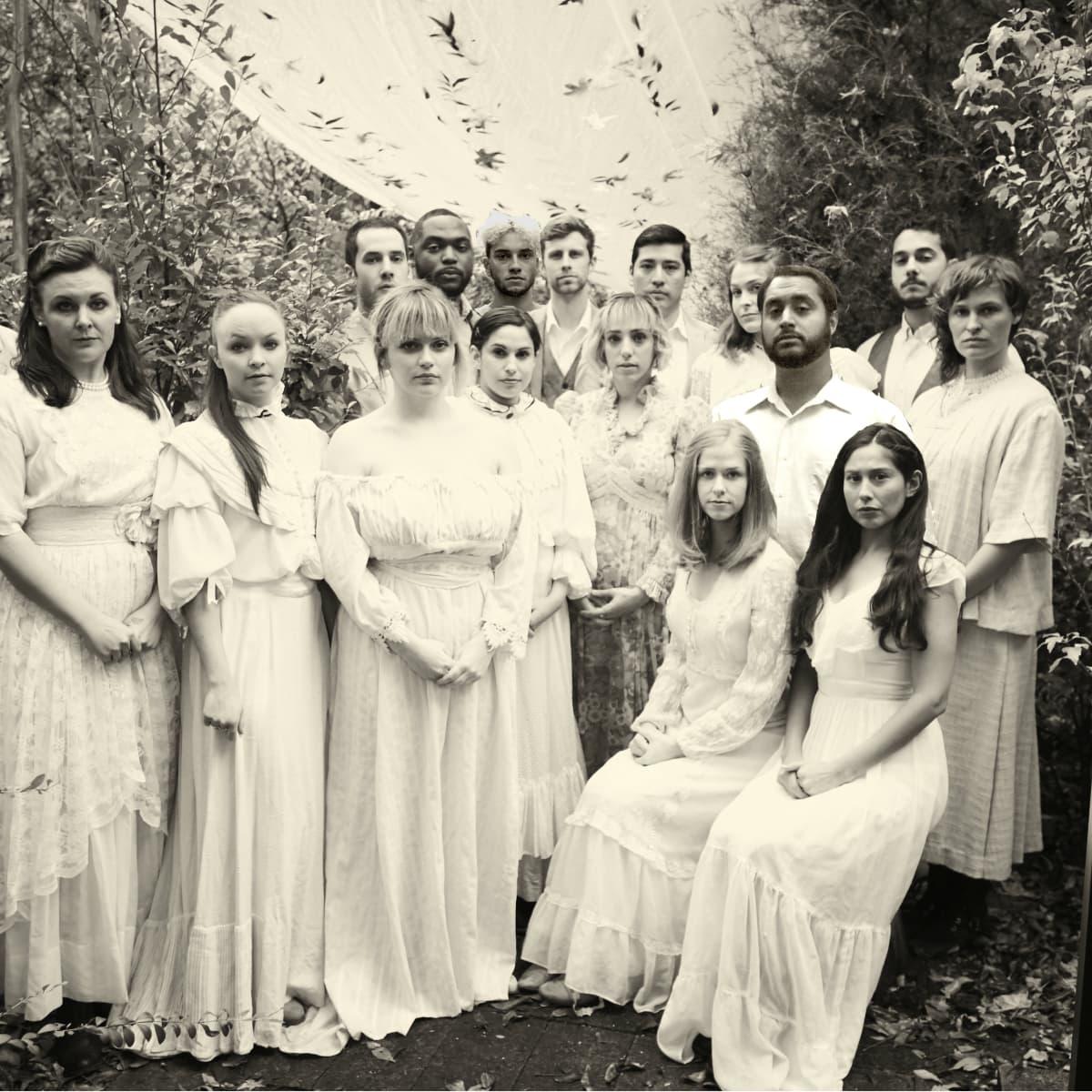 The cast of War Flower