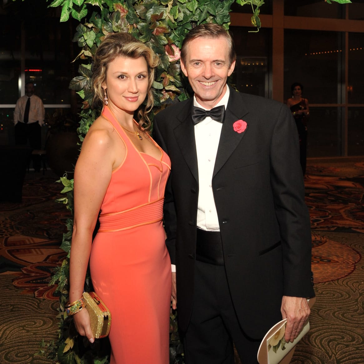 Houston, Heart Ball, Feb 2017, Yuliya Veratennikova, Dr. Daniel Penny