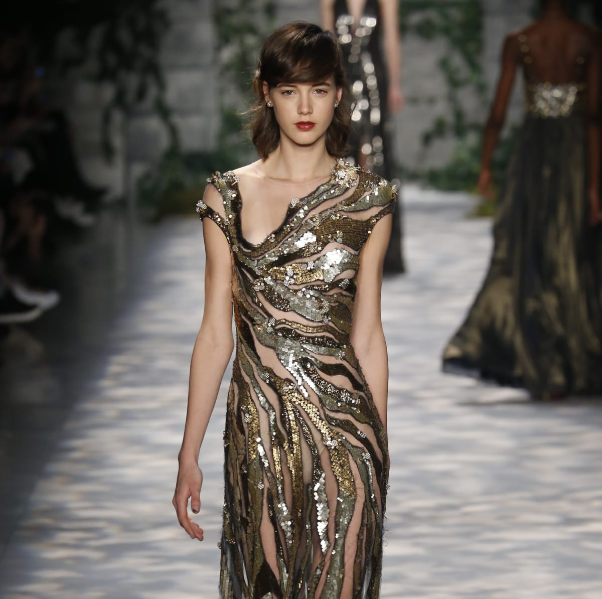 Jenny Packham fall 2017 collection look 18