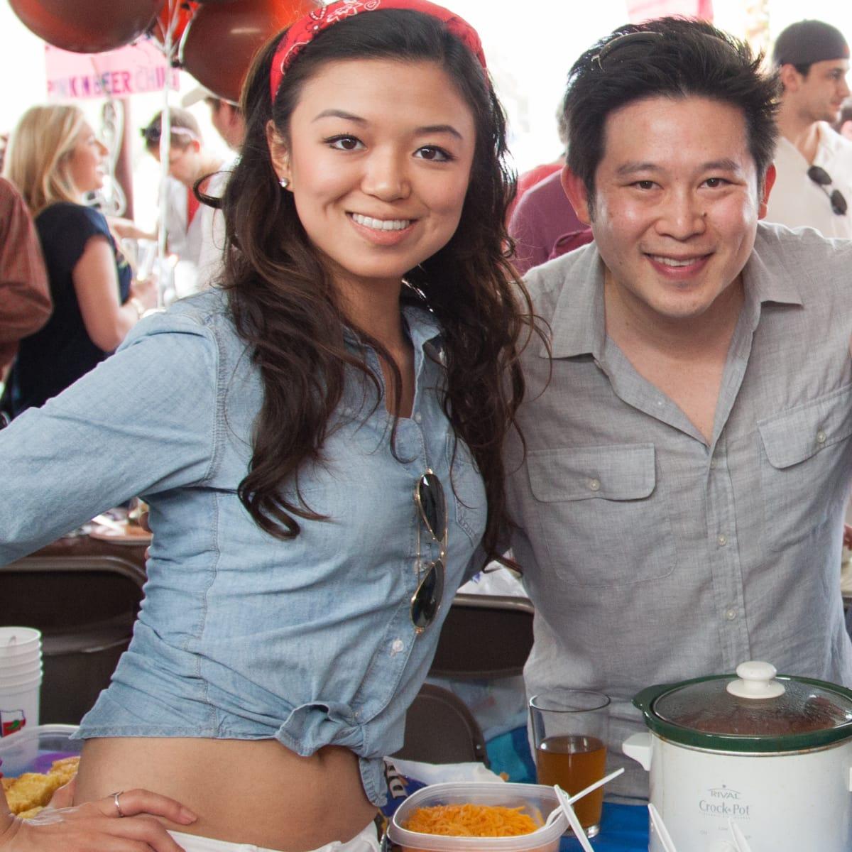 Alicia Hou, from left, Alex Woo, Alex Barney and Sara Hansen at the Casa de Esperanza's Young Professionals 5th Annual Chili Cook Off February 2015