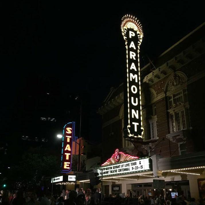 Austin Paramount Theatre blade sign new 2015