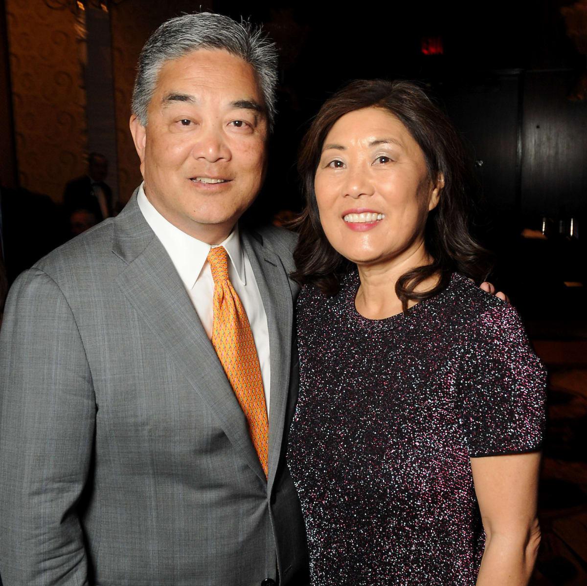 Kickstart gala, Willie Chiang, Linda Chiang