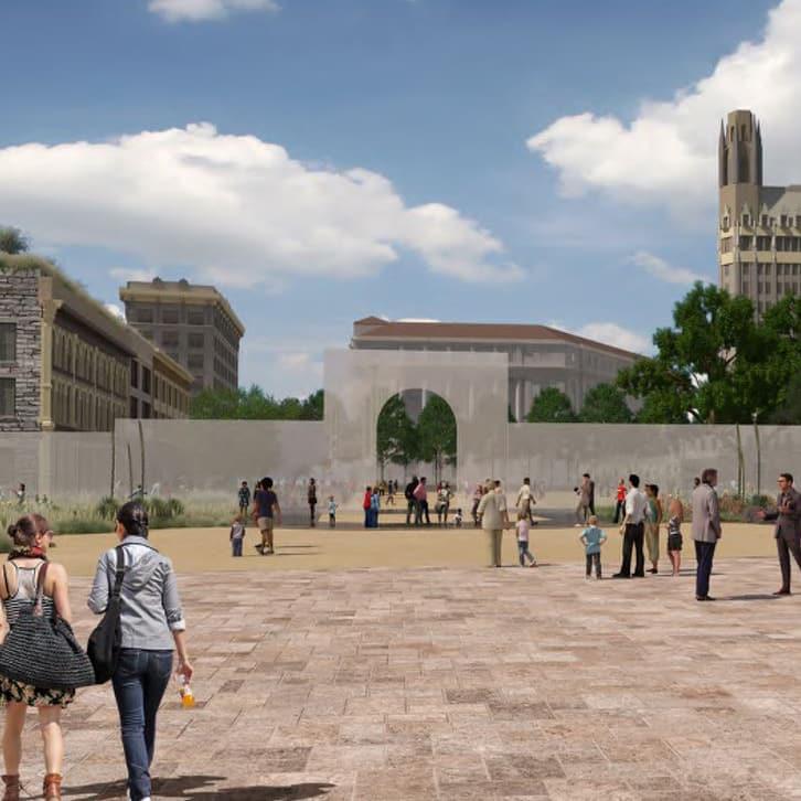 Alamo Master Plan 2017 south gate