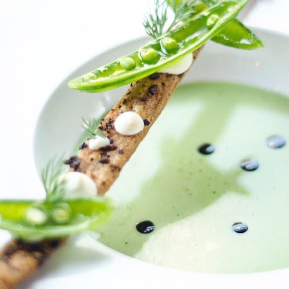 Restaurant Gwendolyn pea soup