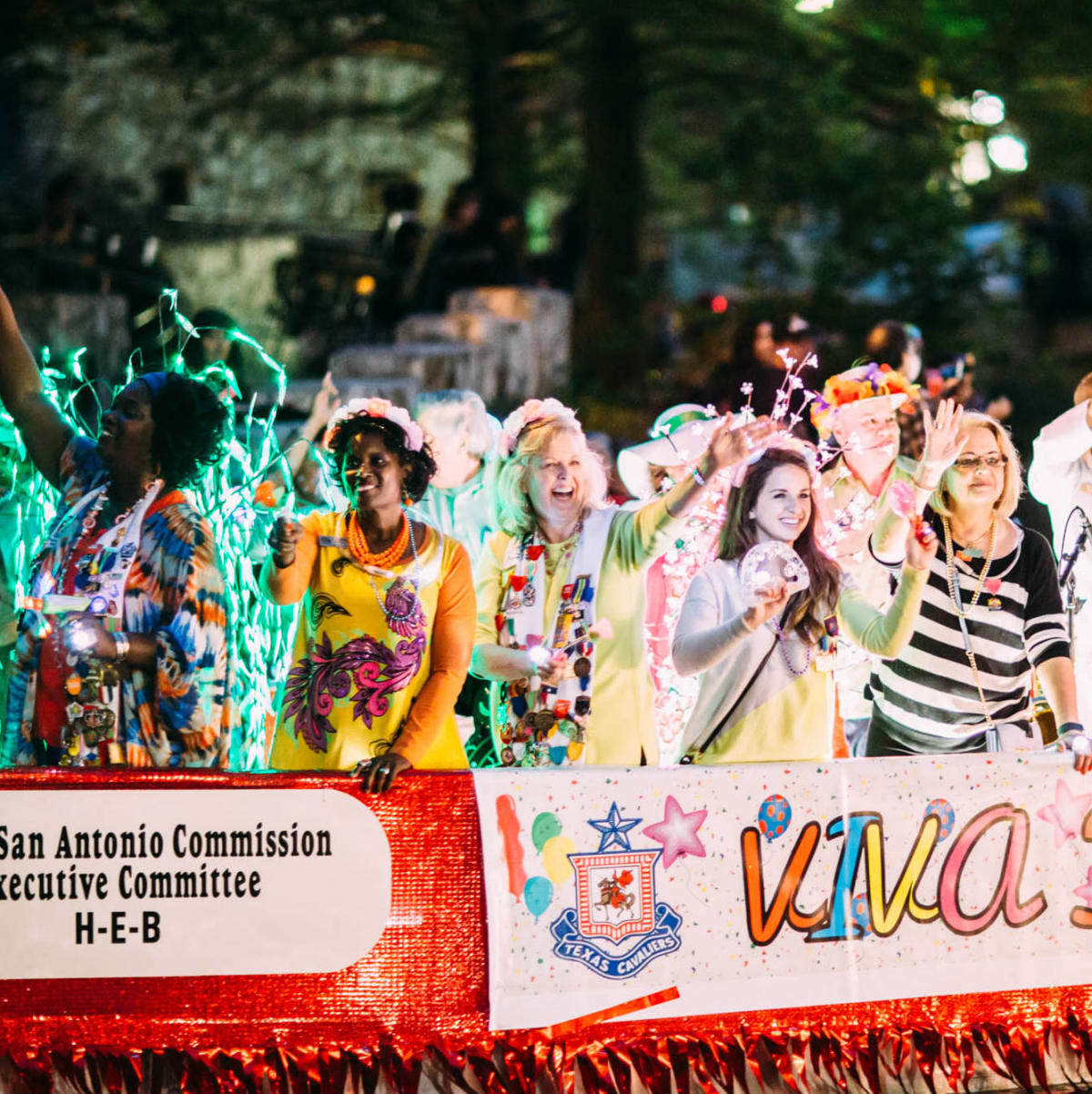 Texas Cavaliers River Parade — Fiesta