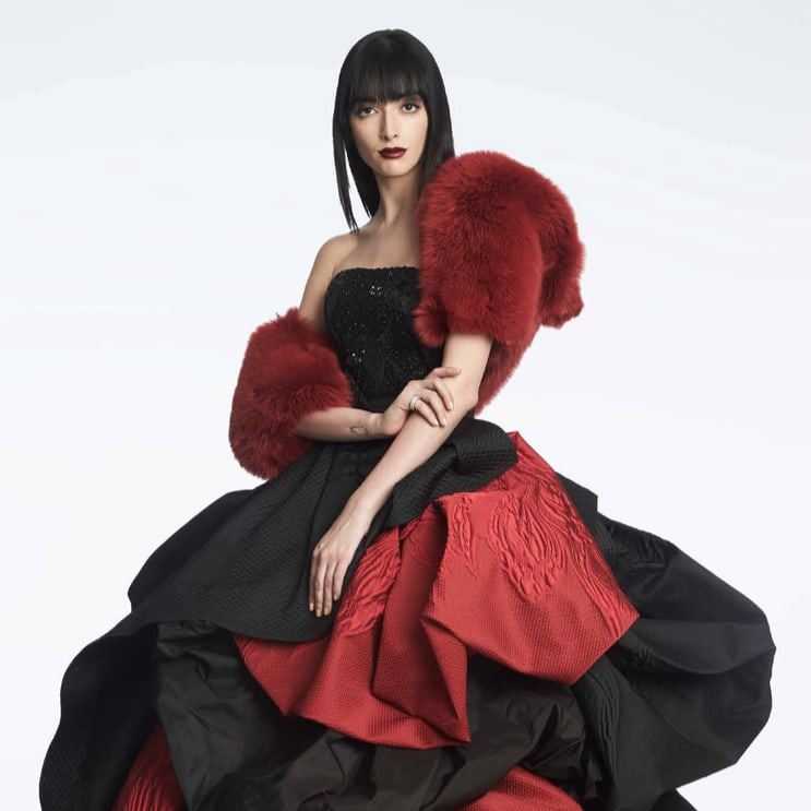 Rubin Singer fall 2017 gown