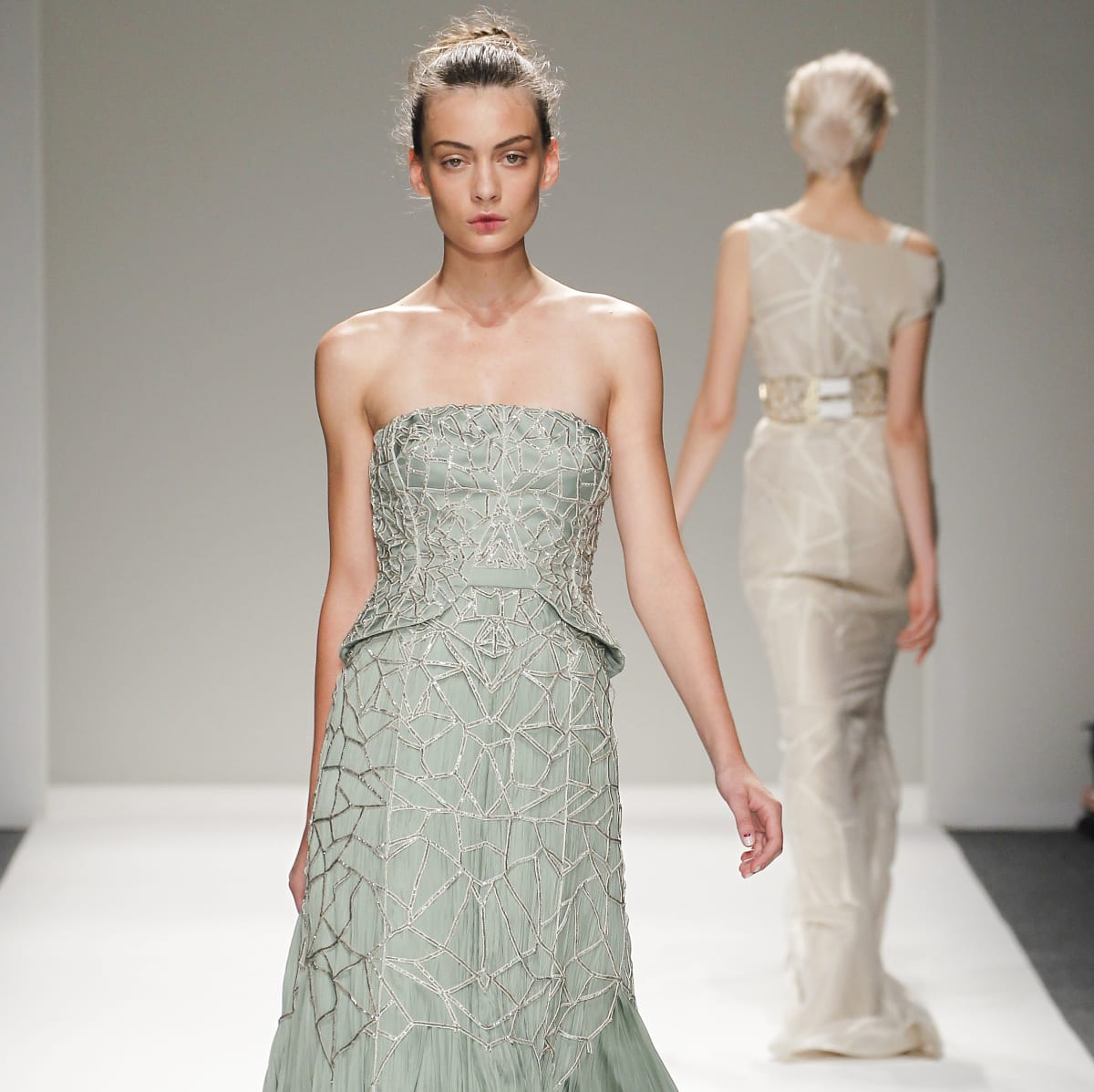 Bibhu Mohapatra gown spring collection 2014