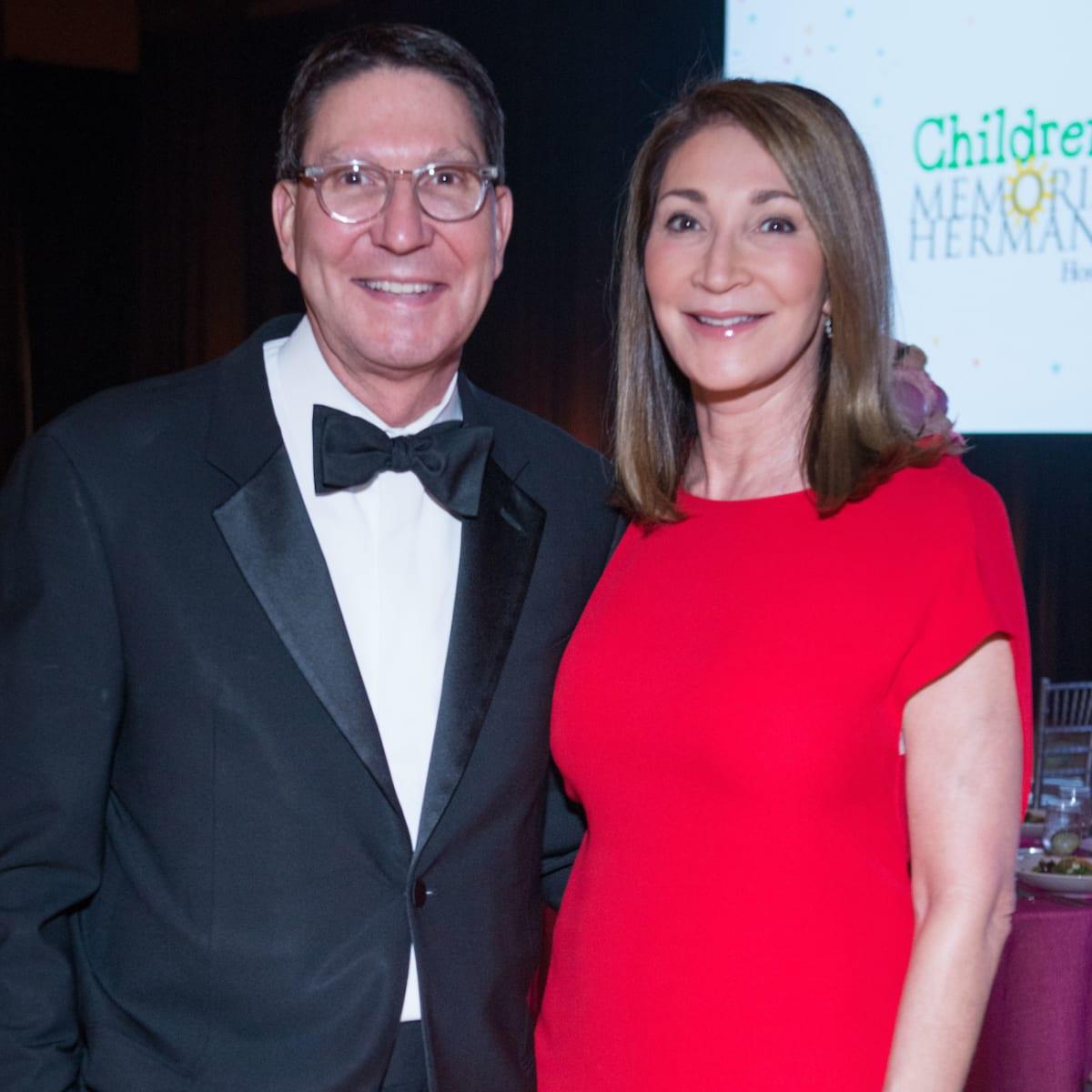 Scott and Soraya McClelland at Memorial Hermann Gala