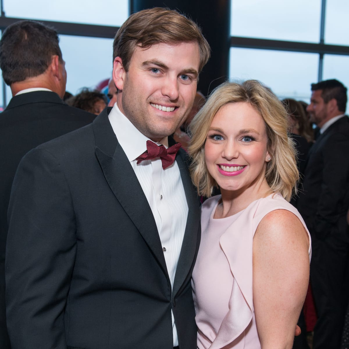 Jason and Stacy Johnson at Memorial Hermann Gala