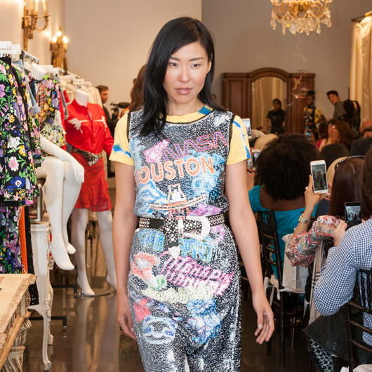 Vivienne Tam Houston collection dress