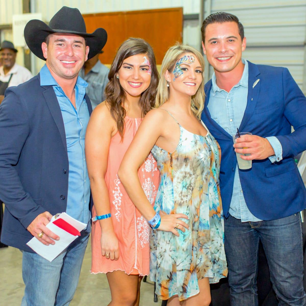 Houston, Cattle Barron's Ball 2017, May 2017, Aly Badawi, Kristin Gergen, Natalie Nieto, Rob Ogletree