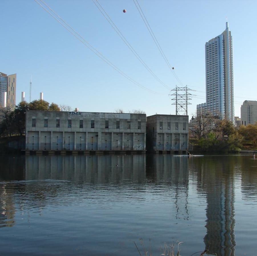Seaholm Waterfront intake building