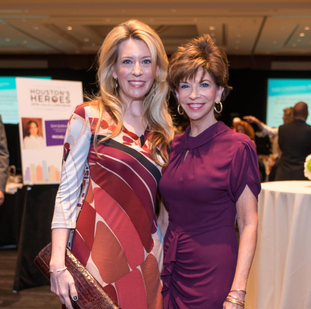 Crime Stoppers luncheon, 6/16 Mauri Oliver, Vicki Rizzo
