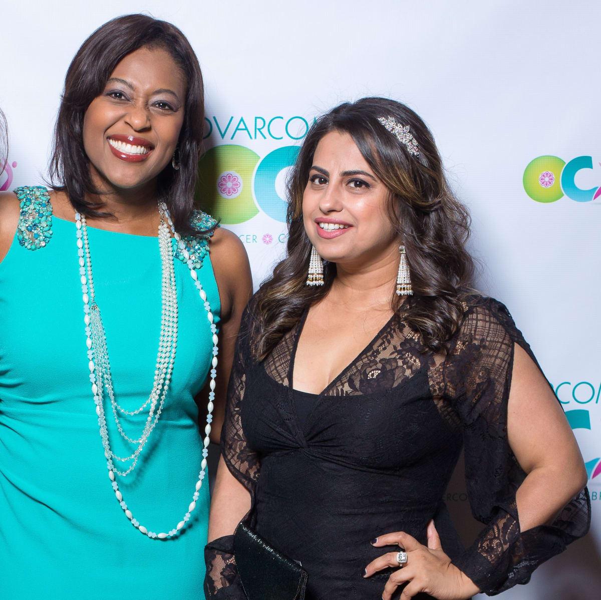 Houston, Ovarcome Gala, May 2016, Sharron Melton, Ruchi Mukherjee