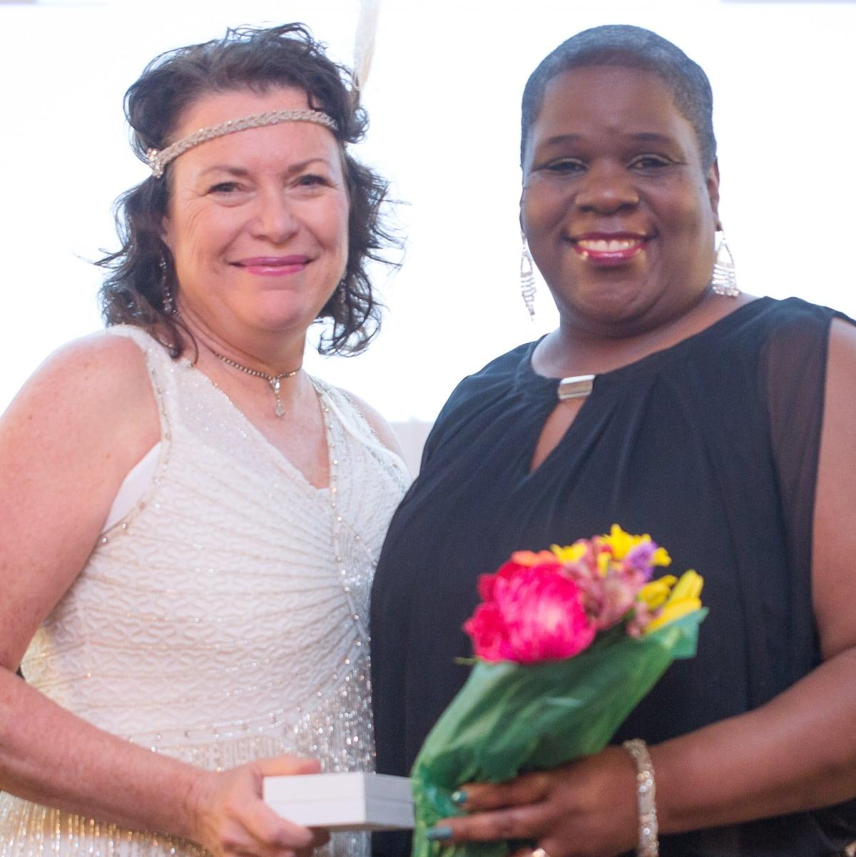 Houston, Ovarcome Gala, May 2016, Sandy Miller, Tonya Childress