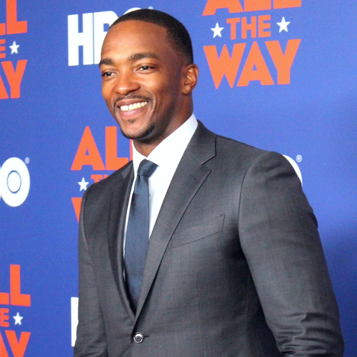 Austin premiere HBO film All the Way LBJ red carpet Anthony Mackie