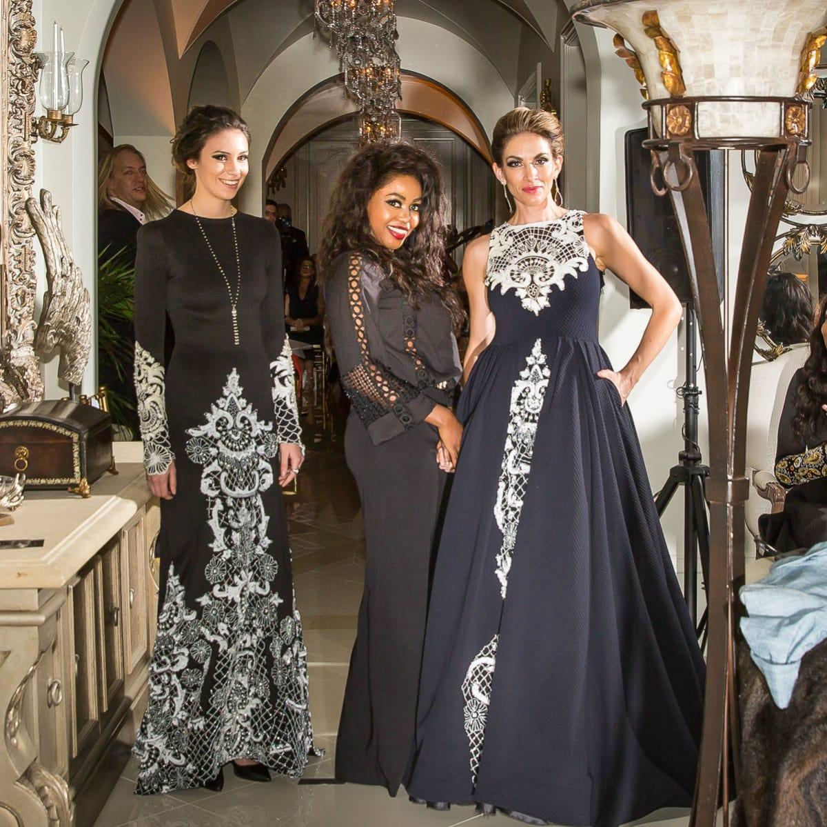 Esé Azénabor with models