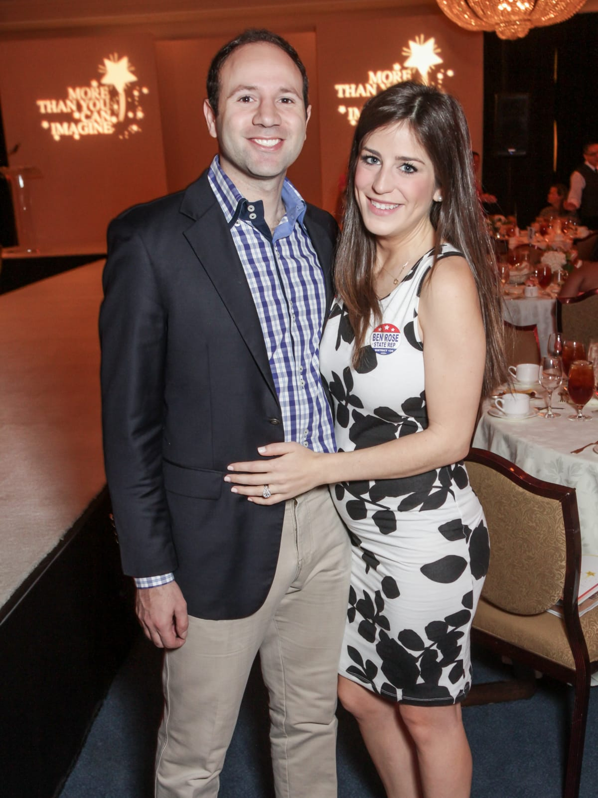 Houston, More Than You Can Imagine luncheon, April 2016, Ben and Laura Rose