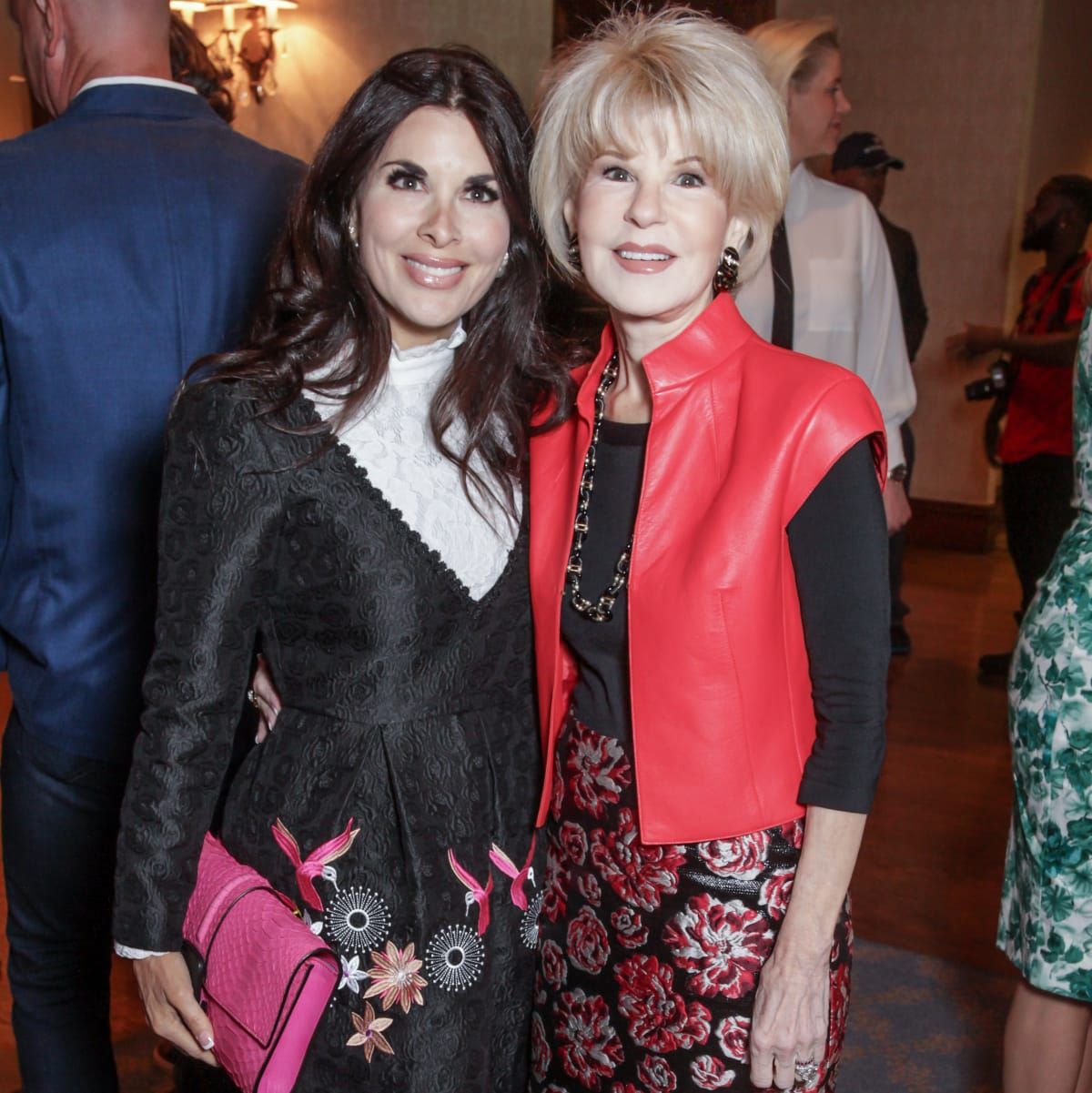 Houston, More Than You Can Imagine luncheon, April 2016, Alissa Maples and Virginia Steppe