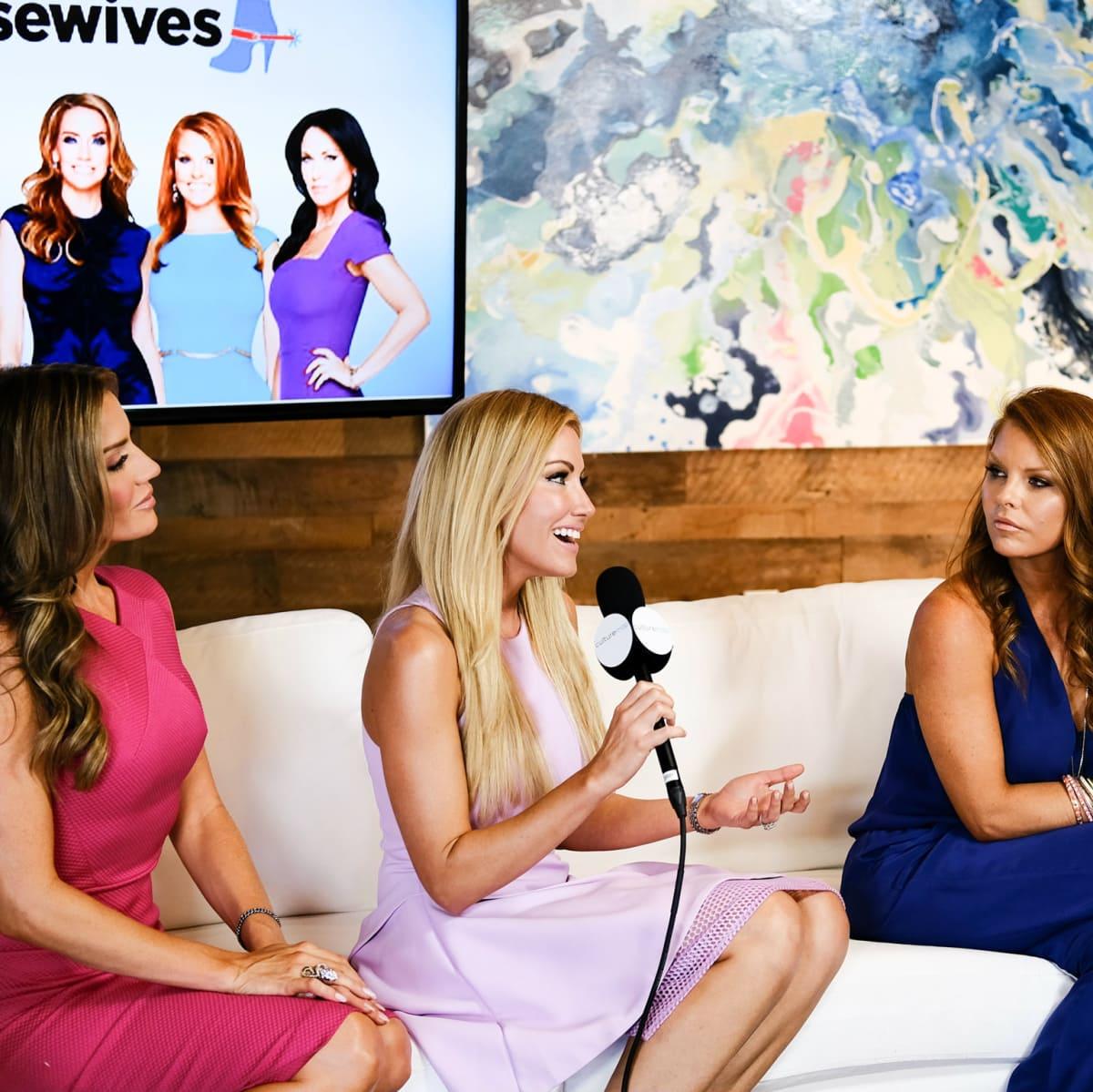 Real Housewives of Dallas Stephanie Hollman, Brandi Redmond, Cary Deuber