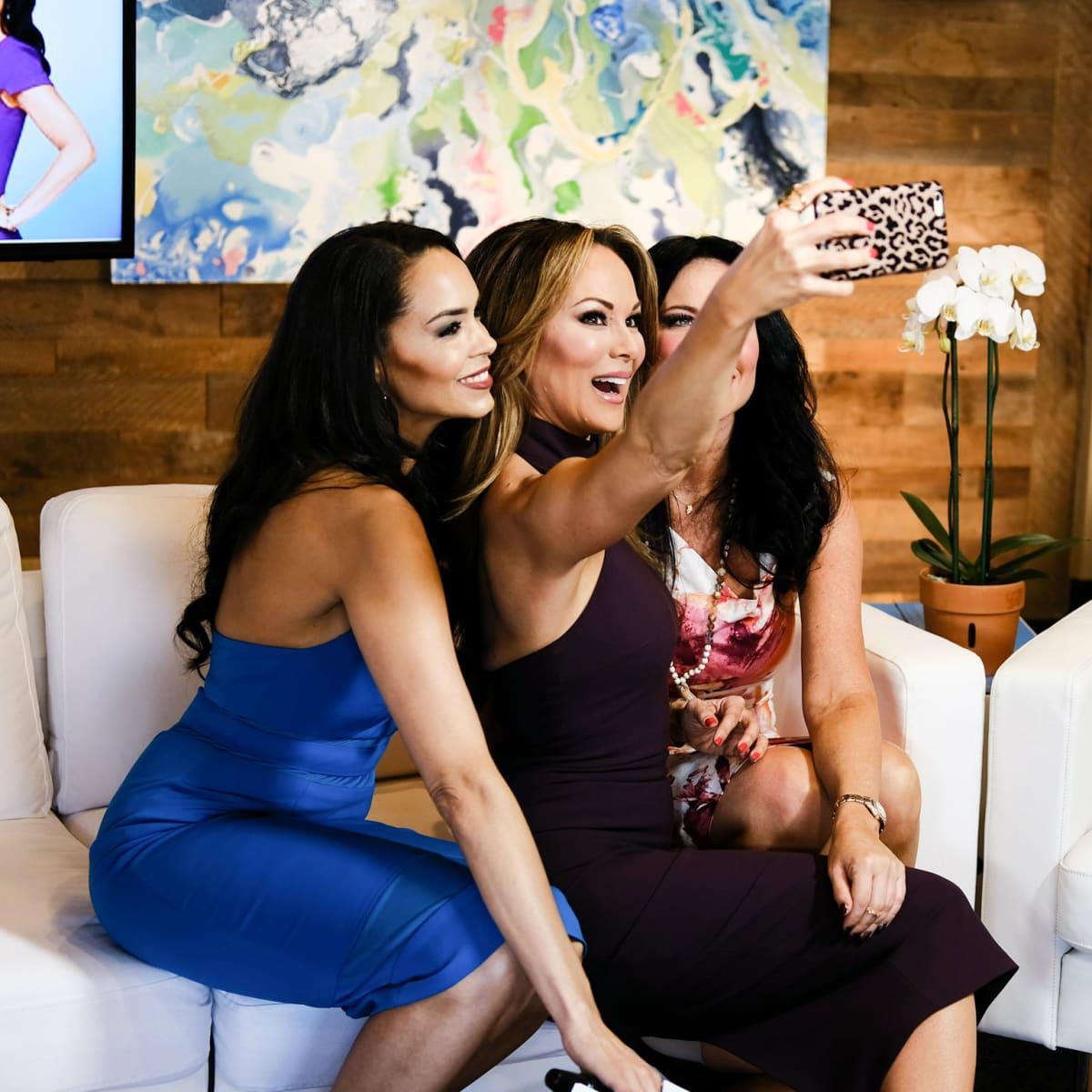 Real Housewives of Dallas Dawn Neufeld, Tiffany Hendra, LeeAnne Locken
