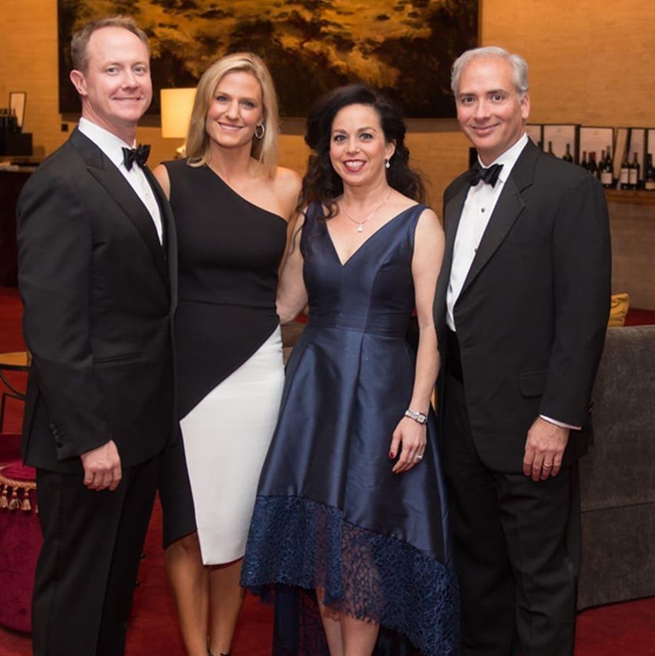 symphony Wine Dinner, April 2016, Billy McCartney, Christie McCartney, Viviana Denechaud, David Denechaud