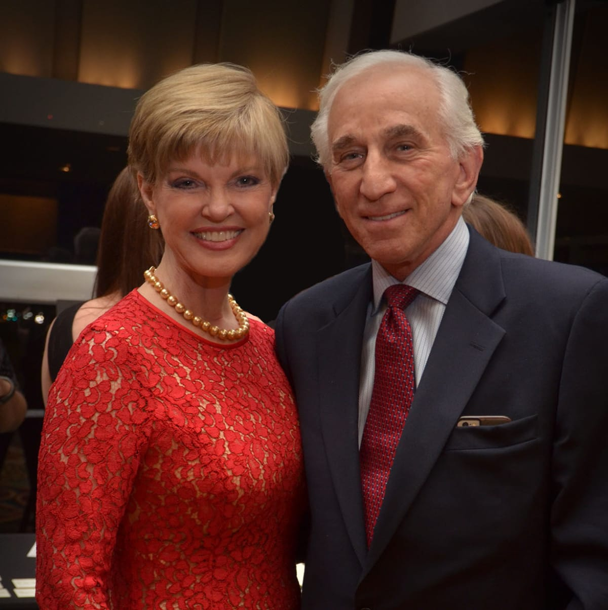 Texas Heart Institute dinner, Feb. 2016, Donna Weitzman, Herbert Weitzman