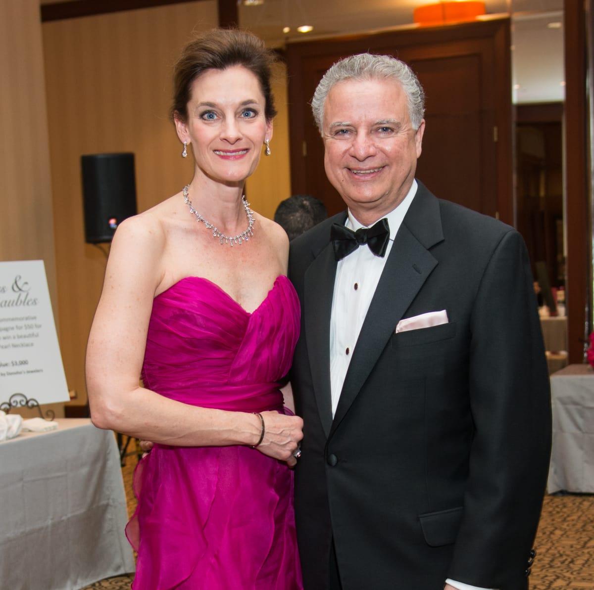 Komen Foundation Gala, Feb. 2016, Tricia Georgiou, Tricia Georgiou