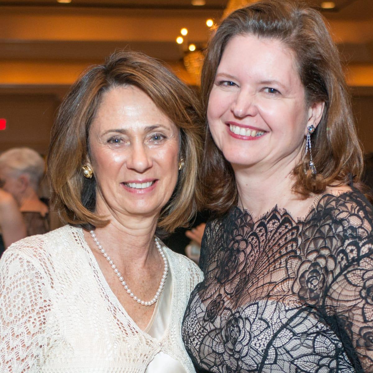 Sis Johnson and Doreen Stoller at Inprint Gala