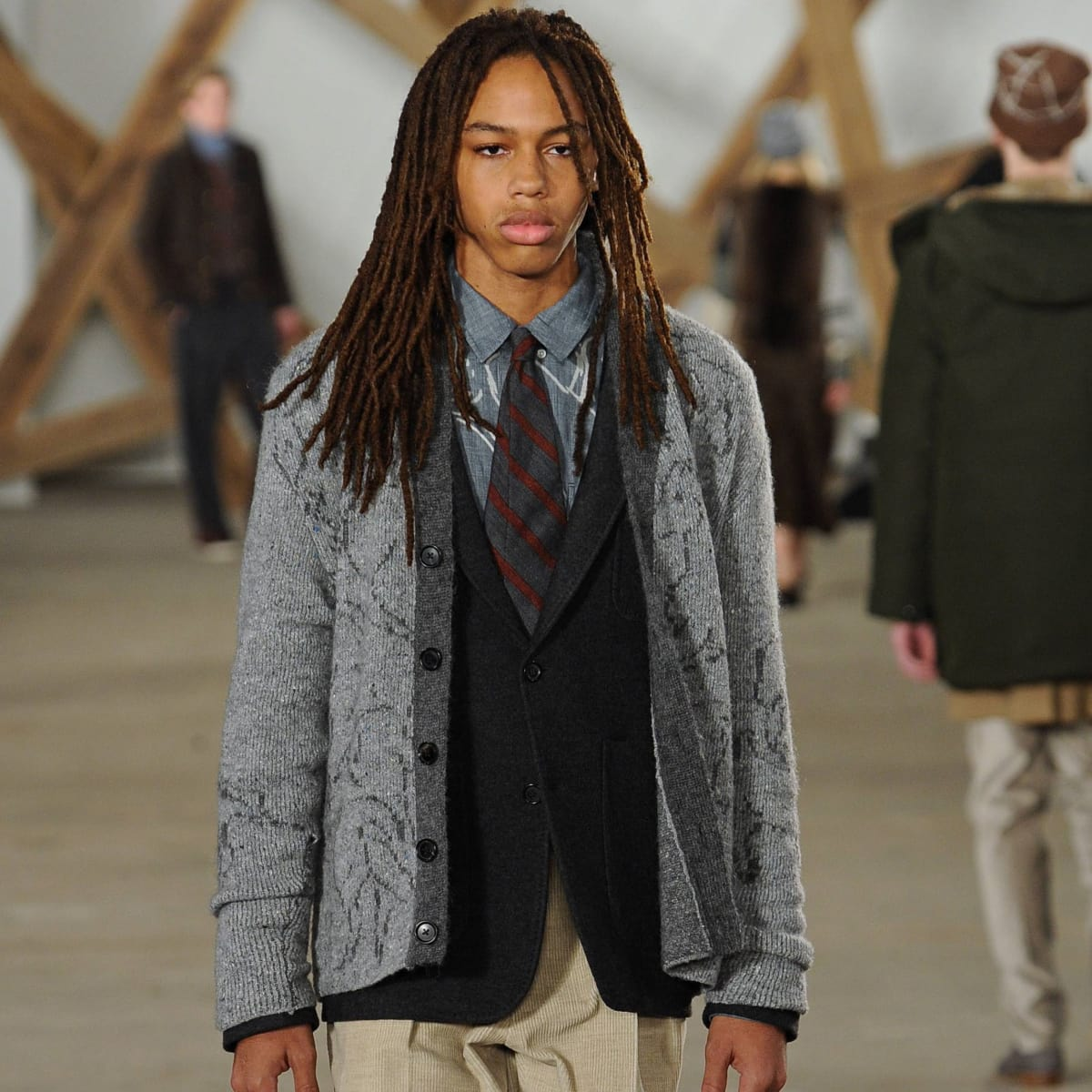 Billy Reid Look 22 fall 2016 collection