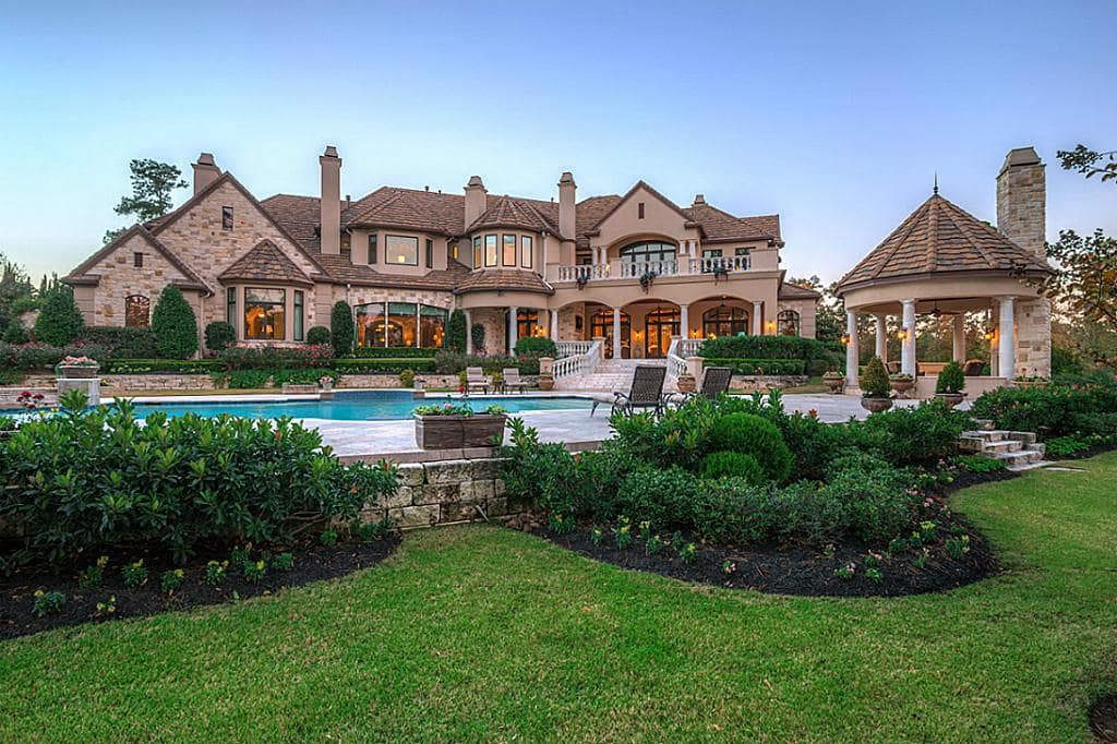 The swankiest homes sold in houston in 2015 include these for Grand home designs fort worth