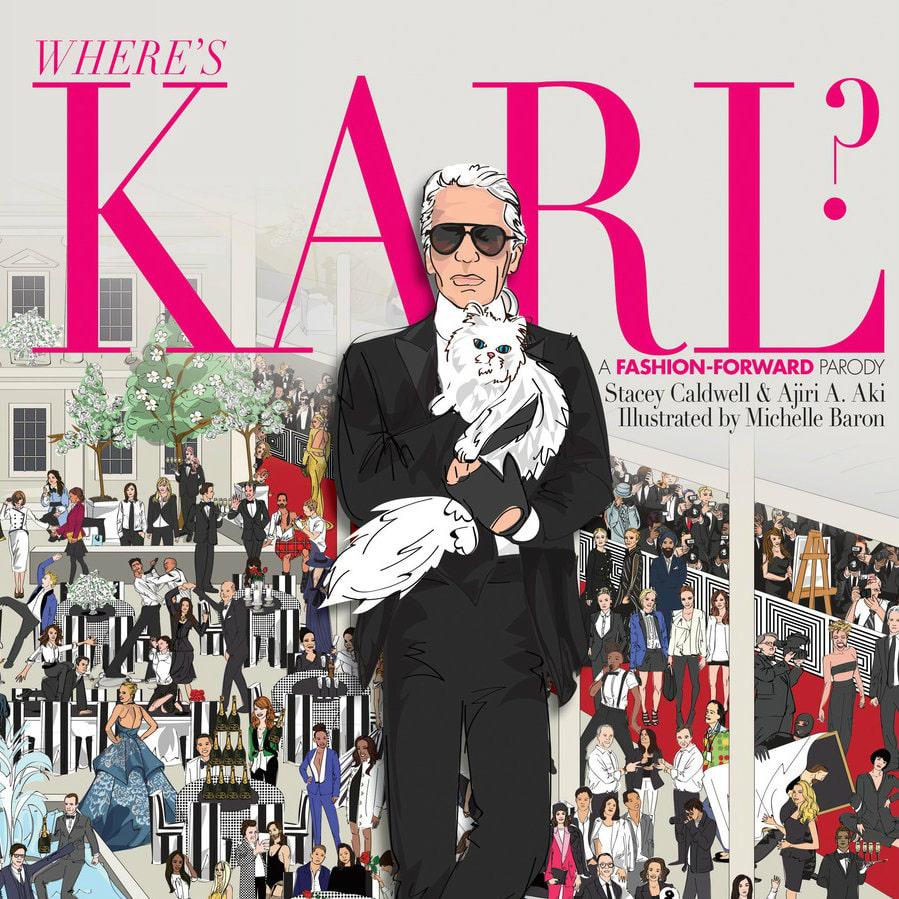 Where's Karl book jacket