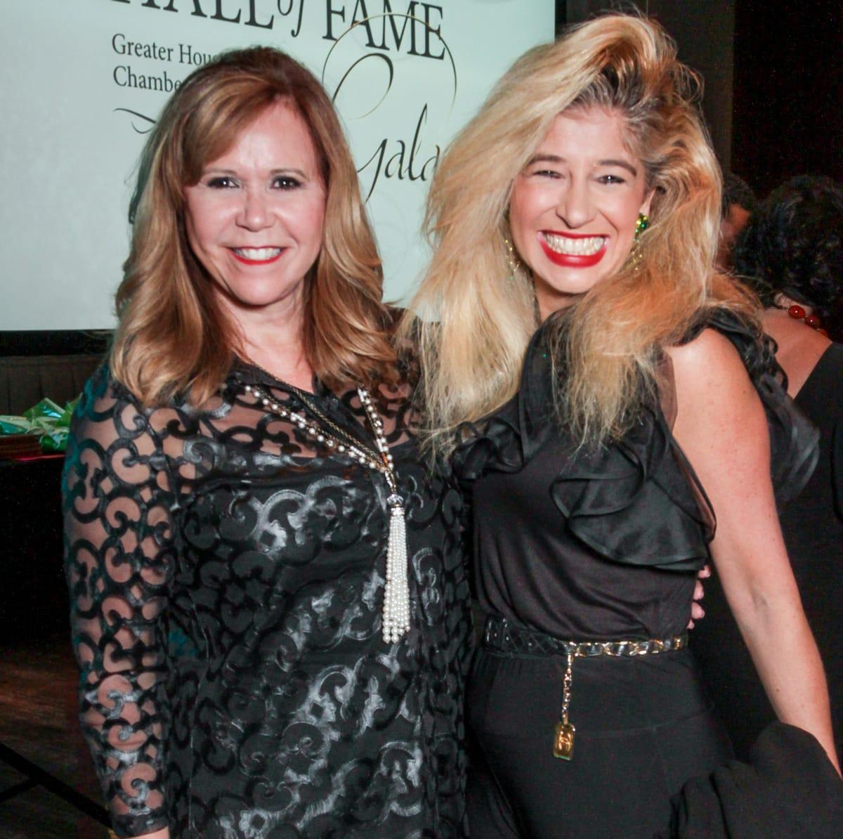 News, Greater Houston Women's Chamber of Commerce Gala, Dec. 2015, Cyndy Garza Roberts, Sofia Adrogue