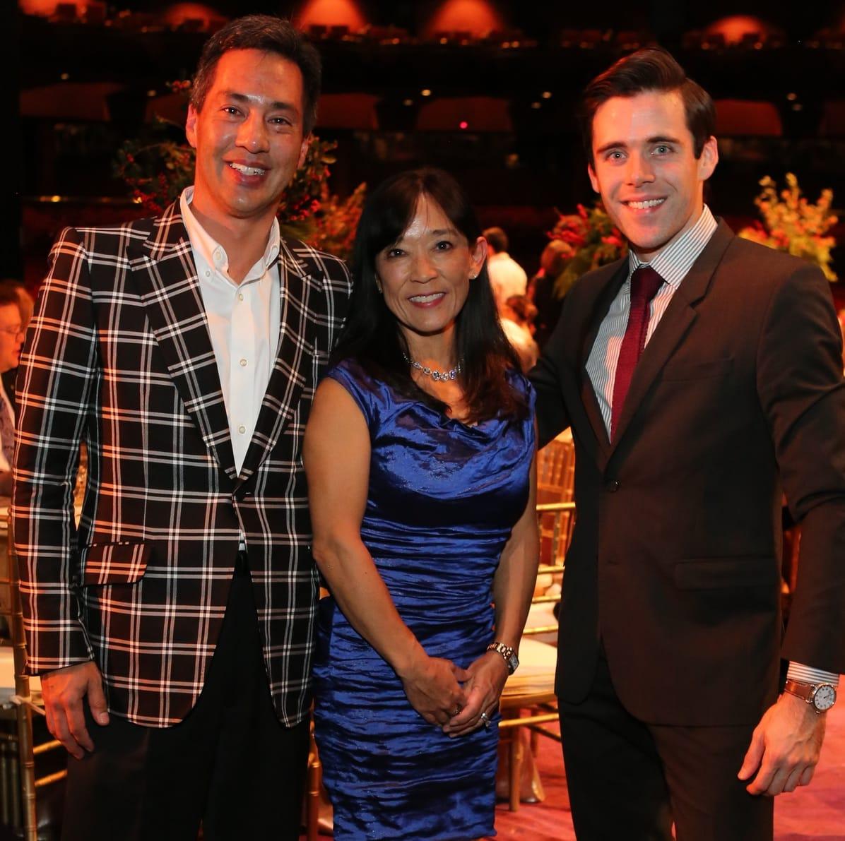 News, Houston Ballet Jubilee of Dance, Dec. 2015, Pierre Chevray, Kay Chevray, Connor Walsh